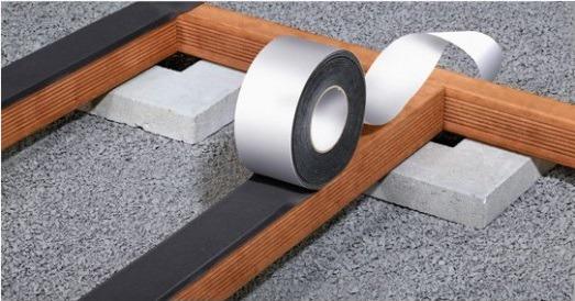Výrobky SPAX na ochranu terasového dřeva